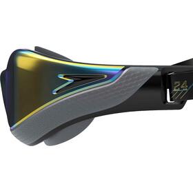 speedo Fastskin Pure Focus Mirror Swimglasses black/cool grey/blue/gold